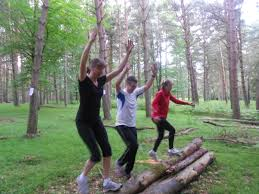 Woodland workout