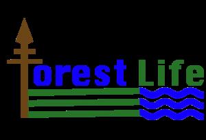 Forest Life logo dark trans v4
