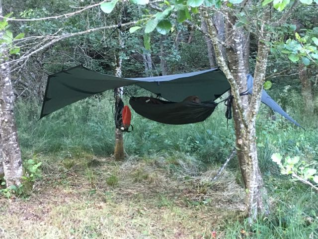 Wildcamping - Hammocks or Small Tents